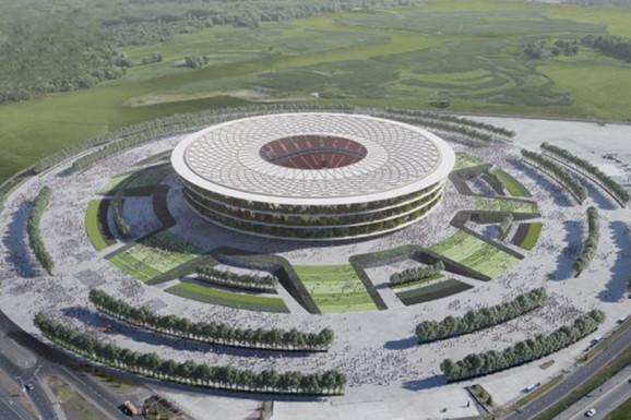 SADA ZNAMO I IME! Nacionalni stadion od 257 miliona evra do 2025. godine, poznata tačna lokacija, a ovako će izgledati (FOTO, VIDEO)