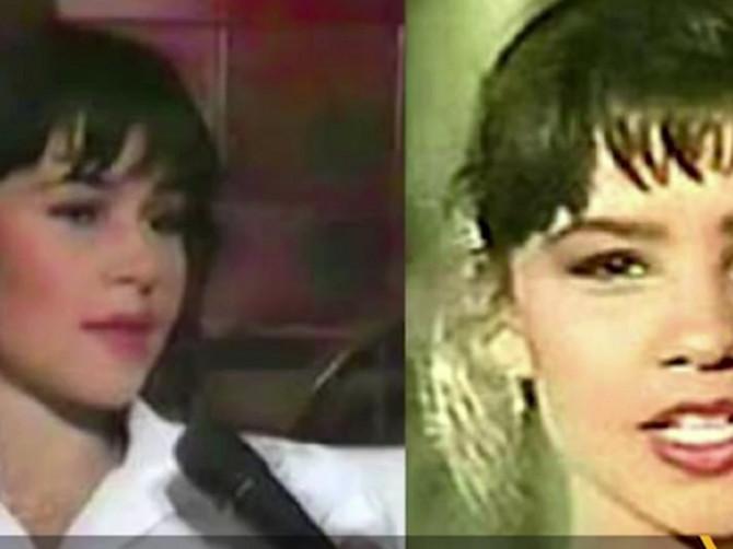 Ovako je Ivona izgledala te davne 1990. godine