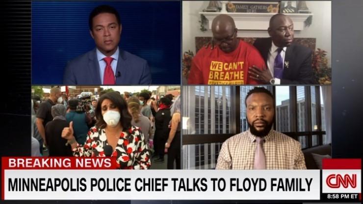 Novinari CNN-a na vezi sa Flojdovom porodicom