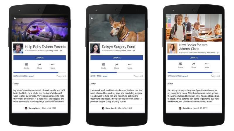 Facebook umożliwia zbiórki pieniędzy