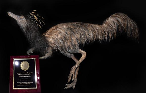 Trodimenzionalna skulptura za koju je Filipović dobio vrednu nagradu