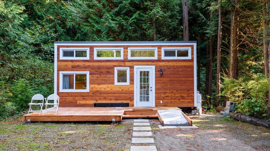 Domek typu tiny house (zdjęcie liustracyjne)