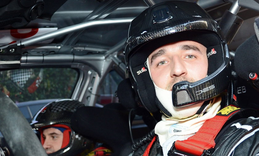 Robert Kubica Italy Rally di Como