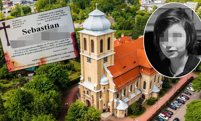 Sebastian zostanie pochowany w kościele św. Antoniego z Padwy w Dąbrówce Małej