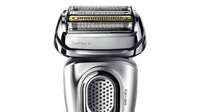 Wejdź w złotą erę golenia z golarką Braun Series 9 wyposażoną w opatentowaną technologię SyncroSonic™ i pokryty tytanem trymer