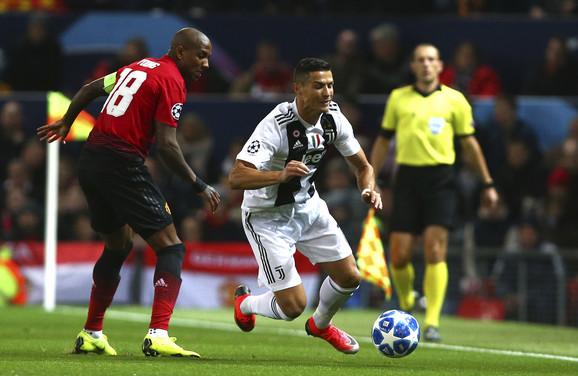 Kristijano Ronaldo juri prvenac za Juventus u Ligi šampiona