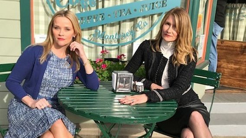 Reese Witherspoon i Laura Dern, czyli Madeline i Renata na kawie w Seaside Coffee Shop