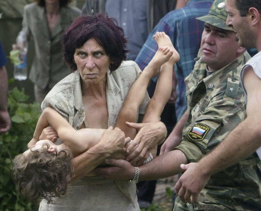 Zamach na szkołę pełną dzieci. Tej krwi Putin nigdy nie zmaże