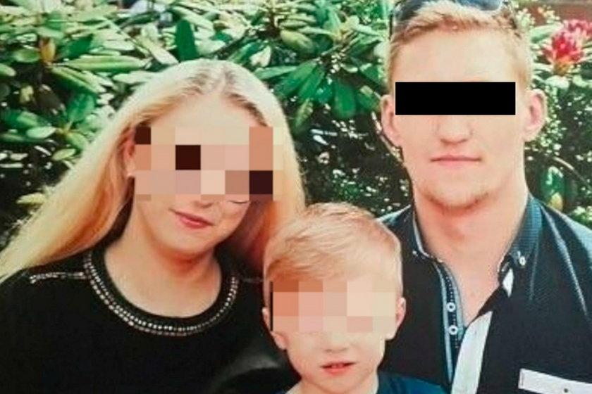 Anna z mężem Viktorem i synkiem Alexem