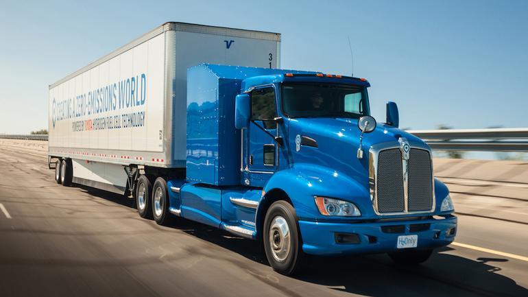 Toyota – testy wodorowej ciężarówki