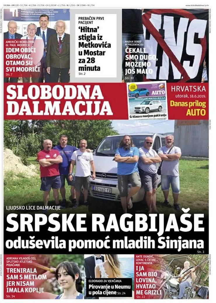 ragbisti iz Pančeva, pokvaren kombi u Hrvatskoj