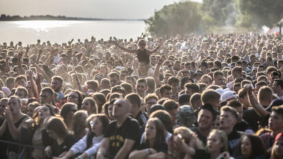 Tłum na Polish Hip-Hop Festivalu