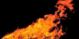 Wielki pożar w Gnieźnie. Ponad 100 strażaków walczyło z ogniem