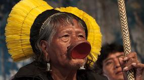 """Raoni Metuktire czyli historia zdjęcia """"płaczącego Indianina"""" i Belo Monte"""