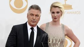 Emmy 2013: Alec Baldwin z córką Ireland