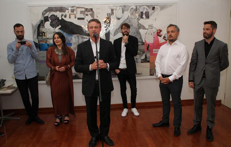 Ambasador Švajcarske Žan-Danijel Ruh otvara izložbu