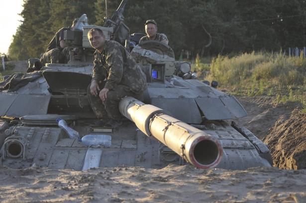 Na Ukrainie armia odnosi sukcesy w walkach z separatystami EPA/IVAN BOBERSKYY