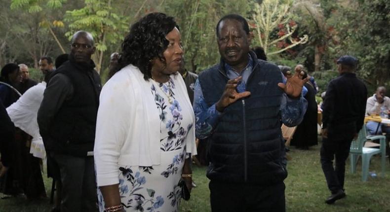 Threats to withdraw Raila Odinga's Visa motivated handshake - Musalia Mudavadi claims