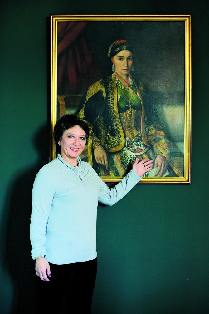 Jelena Tešić Vuletić, muzejski savetnik, etnolog i rukovodilac bogate zbirke nakita Etnografskog muzeja