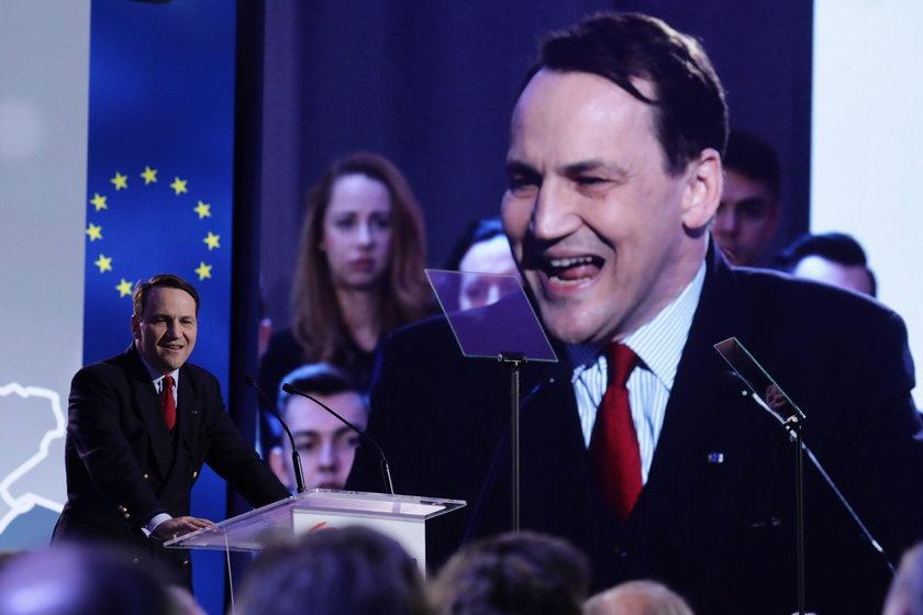 Sikorski: Nie zamierzam wracać do polityki