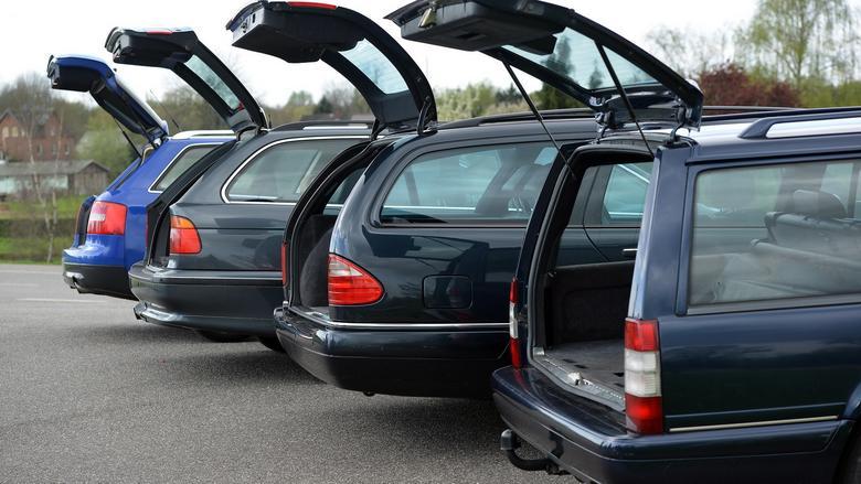 Wszystkie auta są obszerne, ale pod względem pojemności bagażniki różnią się dość znacznie.