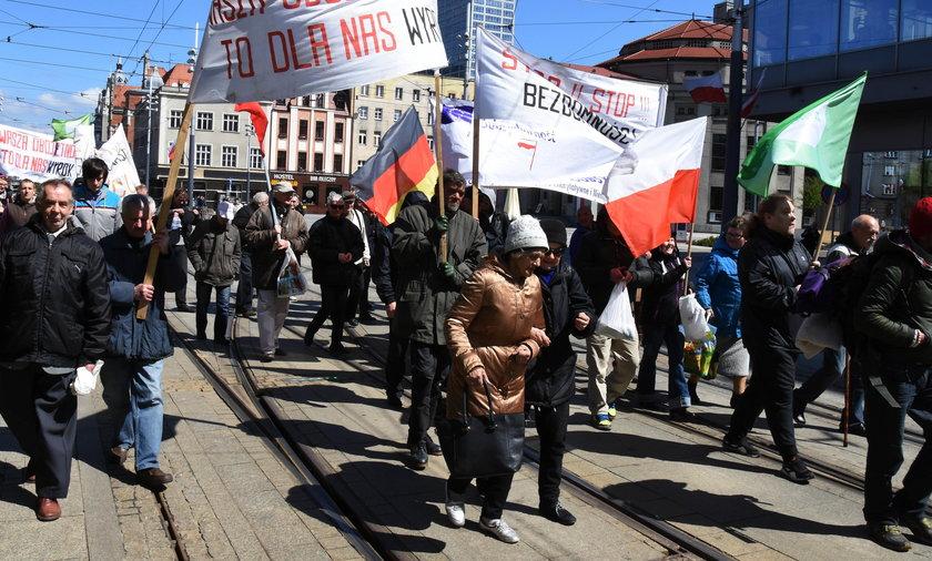 Marsz bezdomnych i wykluczonych