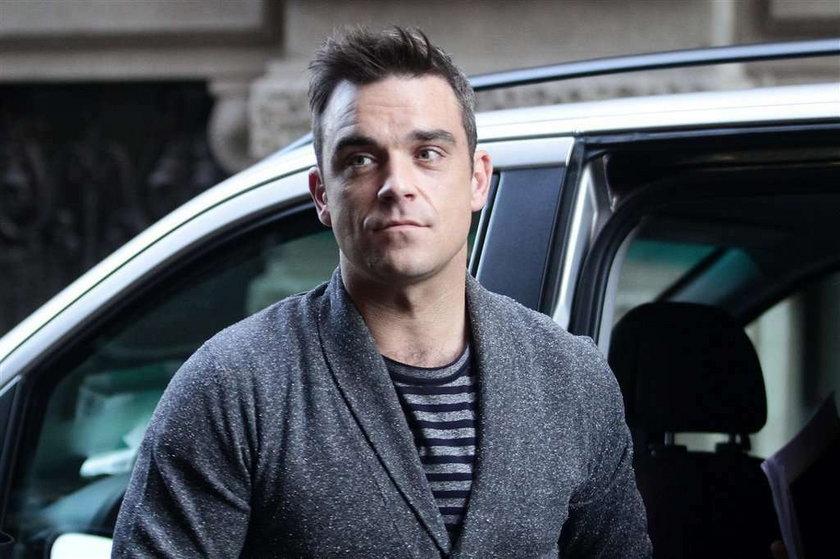 Robbie Williams w szpitalu!