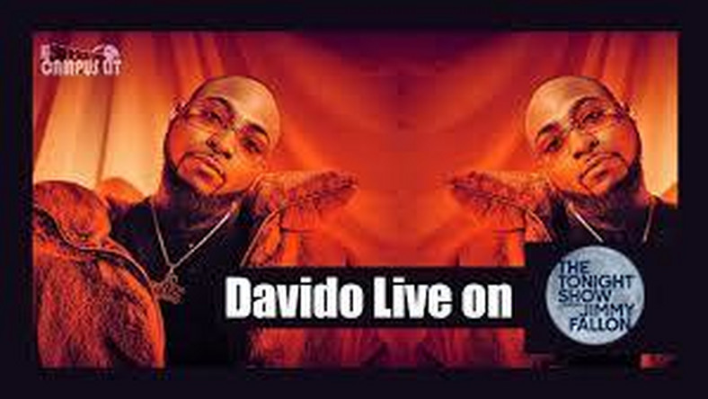 Davido performs 'D&G' and 'Fall' on The Tonight Show Starring Jimmy Fallon. (YouTube/The Tonight Show Starring Jimmy Fallon)