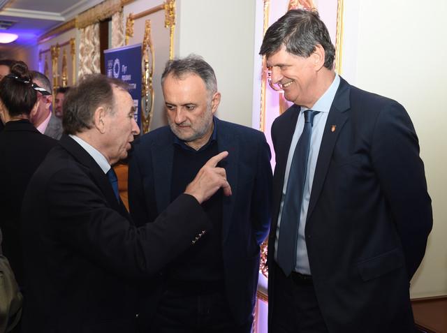 Ivan Ćurković, Zoran Gajić i Žarko Zečevbić su uveličali svojim prisustvom proslavu OK Srbije