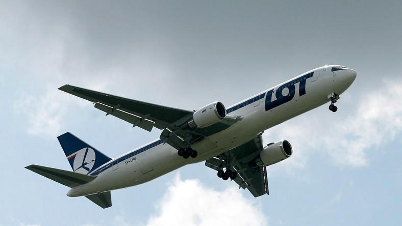Samolot LOT-u znów miał awarię
