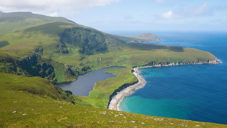 Zielona Wyspa cieszyła się rekordowym zainteresowaniem także wśród urlopowiczów z kontynentalnej Europy
