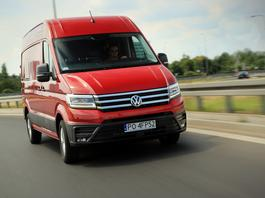 Volkswagen Crafter 35 - dostawcza ekstraklasa