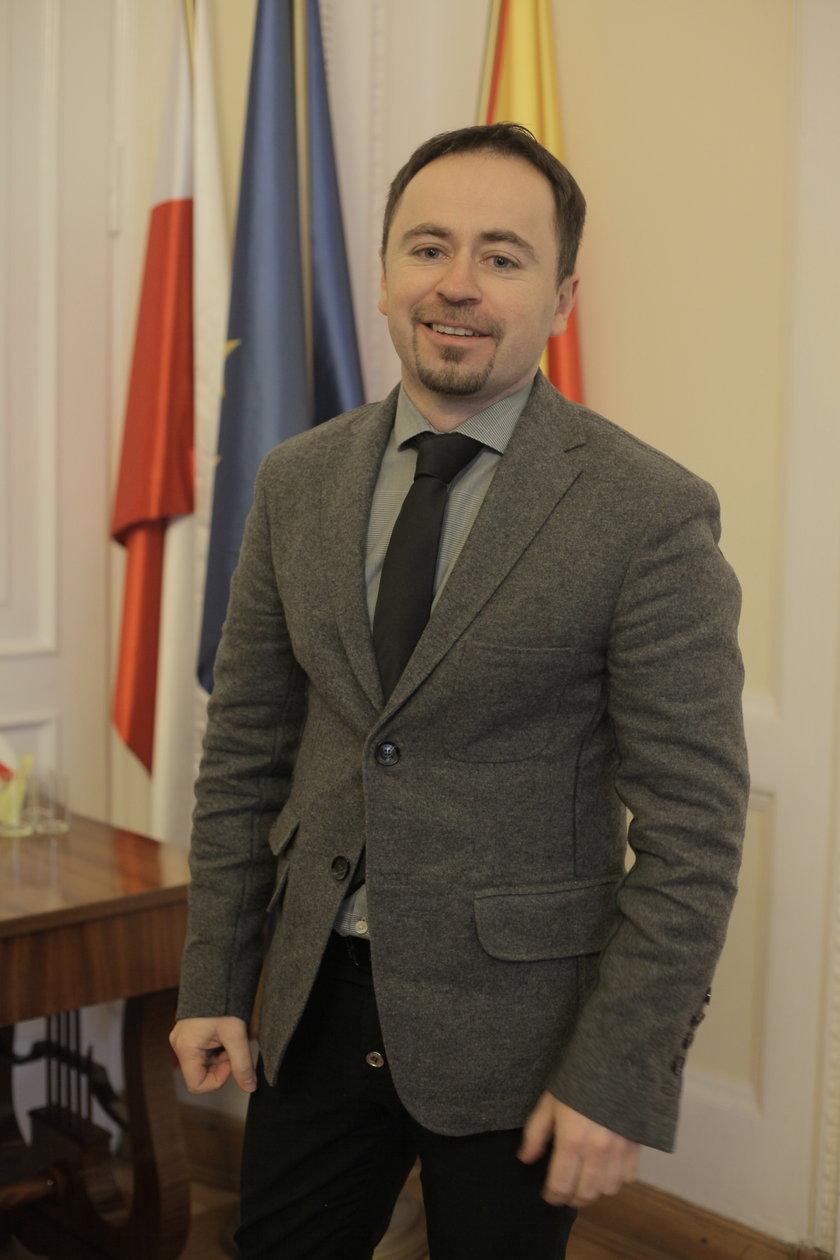 Zastępca Prezydenta Warszawy Michał Olszewski