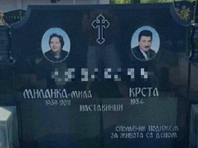 JEZIVA NOVA MODA: Ljudi zgranuto gledaju u grob Milanke i Krste
