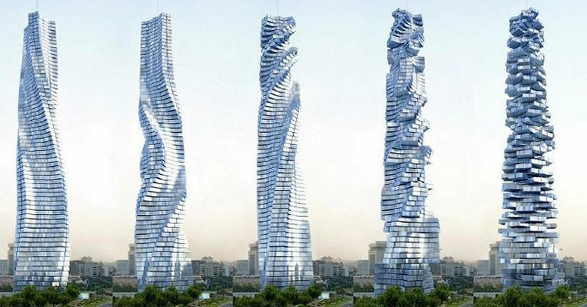 Gdyby ktoś miał wątpliwości, co do tego, że nowe technologi ejuż rewolucjonizują rynek nieruchomości, powinien obejrzeć np. projekt pierwszego na świecie obrotowego wieżowca, który powstanie w Dubaju