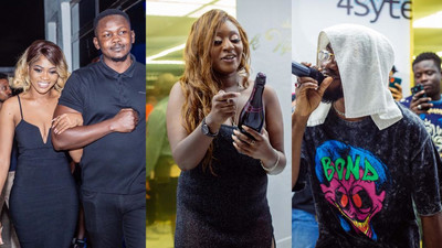Eazzy, Mr Drew and more grace birthday party of UK based artiste manager Cass T (WATCH)