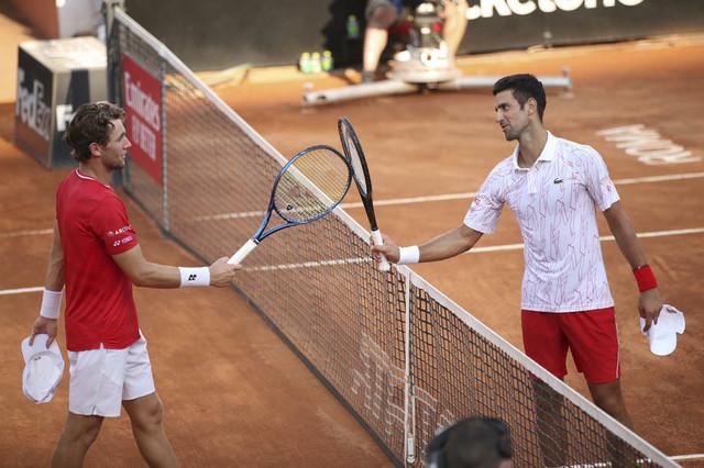 Novak Đoković i Kasper Rud