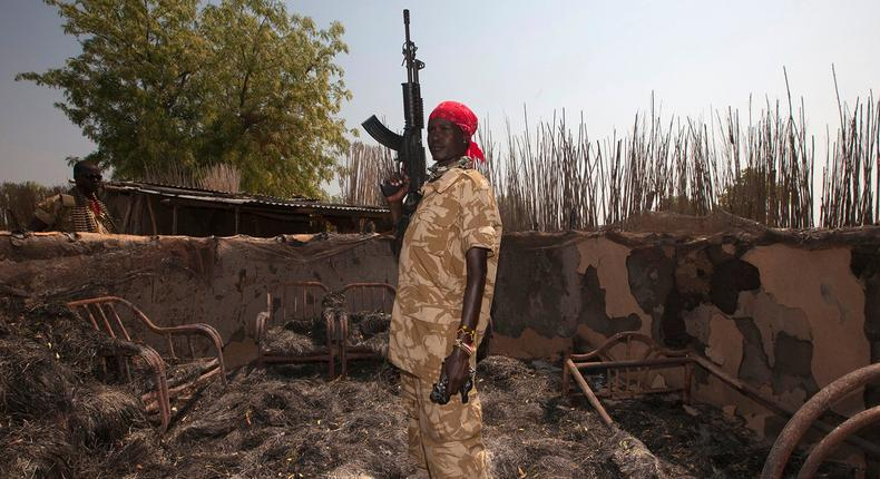 South Sudan is ranked the least peaceful country in Africa