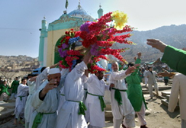 AFGHANISTAN-NEW-YEAR-POLE