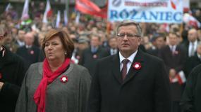Prezydent poprowadził pochód ulicami Warszawy