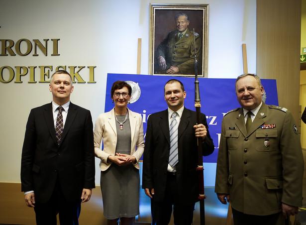 Artur Radwan nagrodzony Halabardą 2013 (fot. Wojciech Górski)