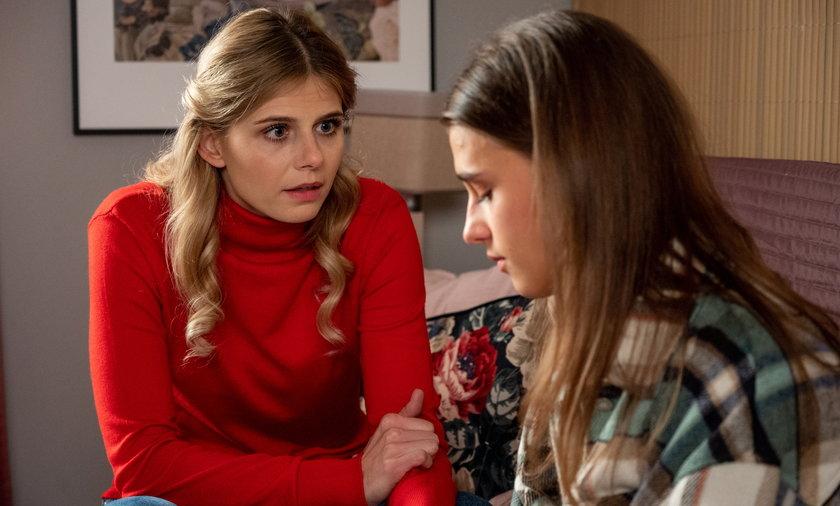 Iwona postanawia pomóc Michalinie