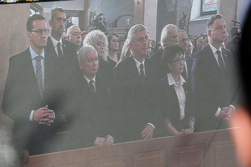 Ostatnie pożegnanie Jana Szyszki