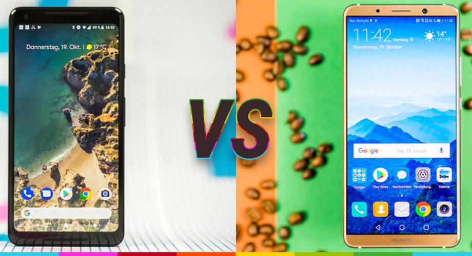Vergleichstest: Huawei Mate 10 Pro vs Google Pixel 2 XL