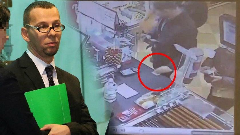 Sędzia ukradł 50 zł na stacji benzynowej. Jego obrońca płakał jak bóbr