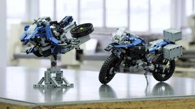 Motocykl BMW inspirowany klockami Lego Technic