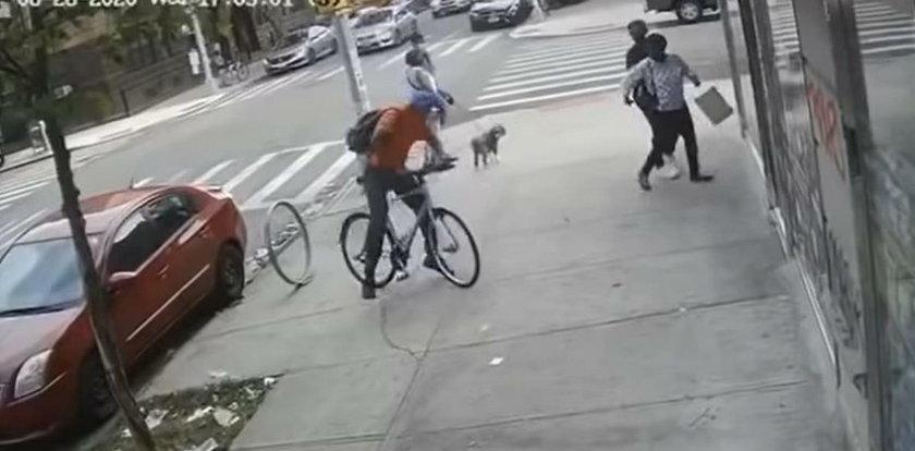 Zaatakował kobietę na oczach strażaków. I to był błąd!