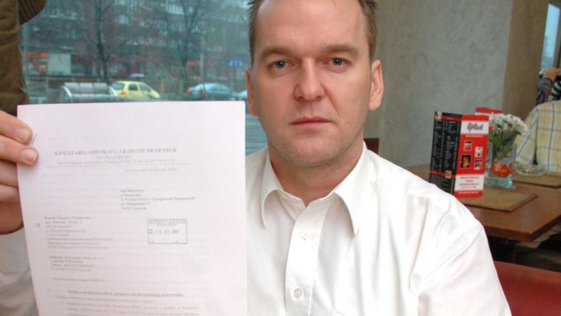Mirosław Michałowski wygrał sprawę z niemiecką firmą w Szczecienie, która zakazała mówić po polsku