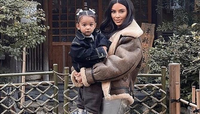 Kim Kardašijan sa ćerkom Čikago