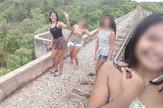selfi na mostu